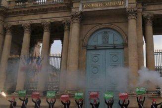 Bioéthique : le gouvernement tente de passer en catimini, Marchons Enfants réplique devant l'Assemblée Nationale
