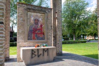 A Breda (Pays-Bas), un mémorial représentant une Vierge Noire, a été vandalisé