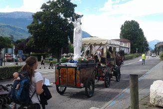 Passage du pèlerinage du M de Marie les 18, 19, et 20 Juin à Lyon