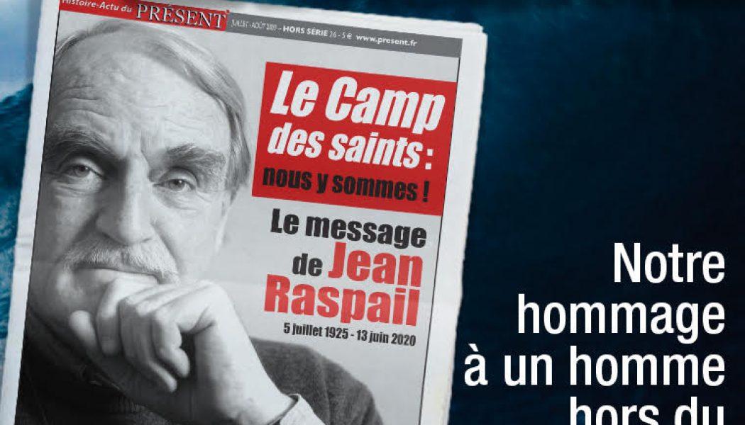 Hors-série du quotidien Présent sur Jean Raspail
