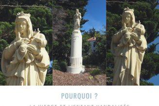 Noirmoutier : la Vierge et l'enfant vandalisés