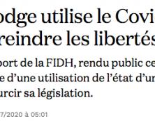 Le Cambodge n'est pas comme la France, où les libertés prospèrent…
