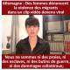 Allemagne : Des femmes dénoncent la violence des immigrés
