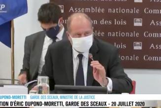 Éric Dupond-Moretti veut mettre un terme à l'anonymat… sauf pour les racailles
