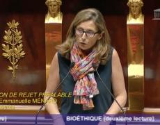 """Emmanuelle Ménard : """"une terrible décadence éthique"""""""