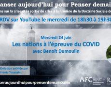 Les nations à l'épreuve du COVID avec Benoît Dumoulin
