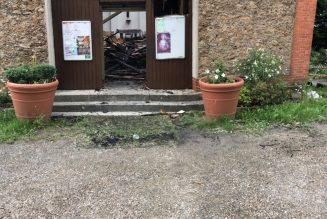 L'église Saint-Paul de Corbeil-Essonnes incendiée