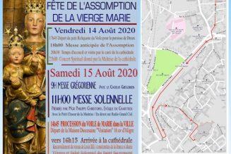 Cérémonies de l'Assomption à Chartres