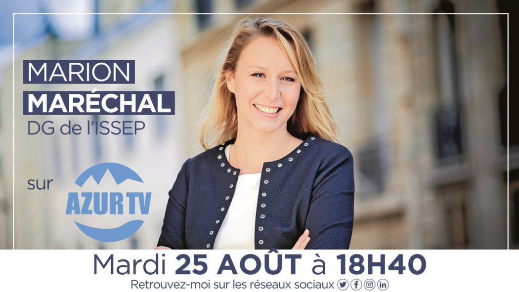 Marion Maréchal dénonce l'ensauvagement, conséquence de l'immigration, de la culture de l'excuse et de l'effondrement de la chaîne pénale
