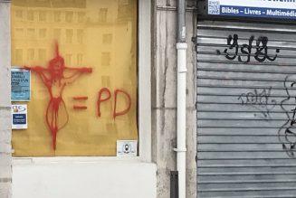 Des tags anti-chrétiens à Lyon