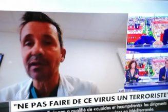 """Docteur Olivier de Soyrès : """"Le virus est là. La majorité n'en subira pas de dommage significatif (…) On sait maintenant soigner la majorité des cas graves"""""""
