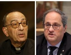 Poursuites judiciaires contre le cardinal archevêque de Catalogne pour avoir célébré une messe publique