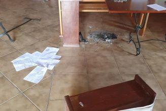 Une église vandalisée dans l'Hérault