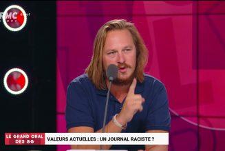 Quel journaliste pour s'offusquer des menaces de mort contre Geoffroy Lejeune, désormais sous protection ?