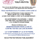 Manifestations de SOS Tout-Petits