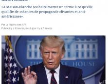 Mensonge éhonté de l'AFP (repris bêtement par Le Figaro)