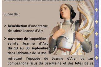Centième anniversaire de la canonisation de Jeanne d'Arc à La Roe
