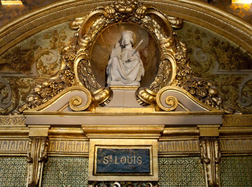 Jean-Luc Mélenchon veut déboulonner la statue de Saint Louis au Sénat