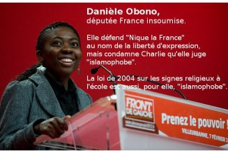 En 2017, Danièle Obono défendait la liberté d'expression comme liberté fondamentale mais hésitait à dire «Vive la France»