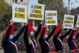 Non à la commande d'enfants en plein de cœur de Paris