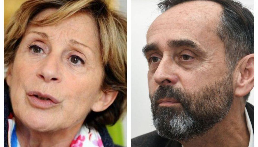 Robert Ménard discute avec Brigitte Barèges, maire LR de Montauban, en vue des régionales