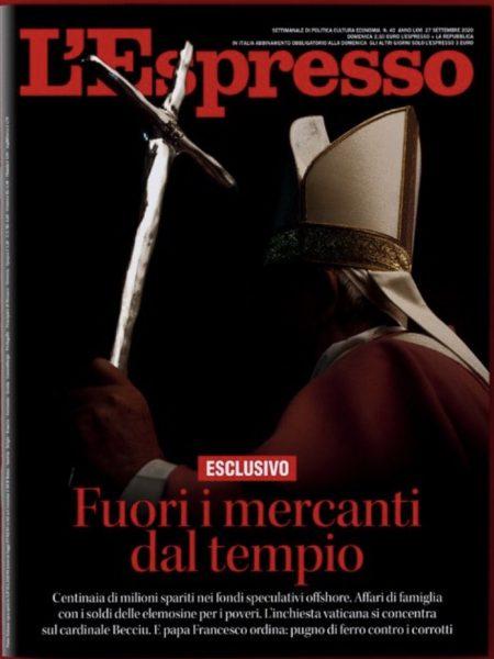 """""""Démission"""" du cardinal Becciu"""