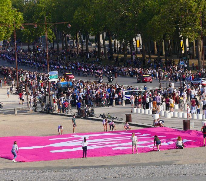 La Manif Pour Tous sur le passage du Tour de France
