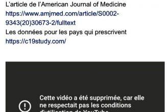 YouTube censure une vidéo de Didier Raoult sur la Covid-19
