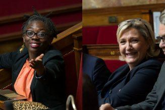 Marine Le Pen trouve normal que Danièle Obono porte plainte contre Valeurs Actuelles