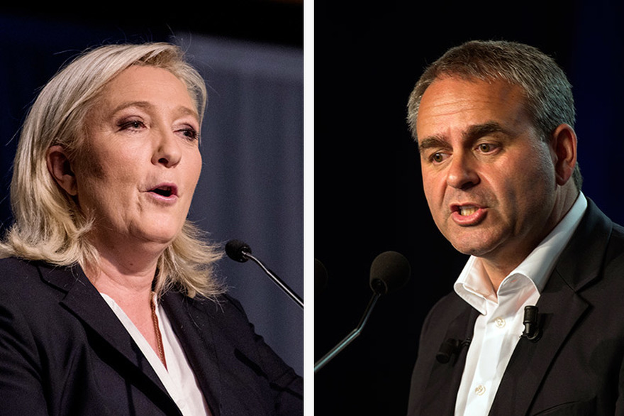 Entre Xavier Bertrand et Marine Le Pen, vers une recomposition de la droite ?