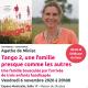 « Tango 2, une famille presque comme les autres » avec Agathe de Miniac, le vendredi 6 novembre à 20h