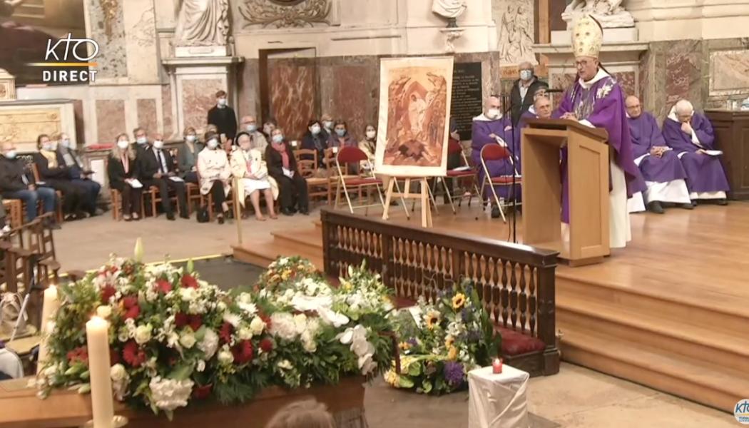 Obsèques de Michael Lonsdale : l'hommage de Mgr Dominique Rey