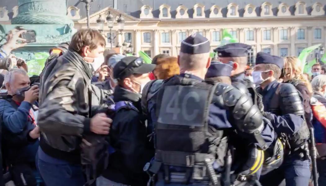 Violence LGBT à la manif Marchons Enfants : intox de la Préfecture de police