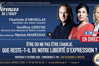 """""""Etre ou ne pas être Charlie. Que reste-t-il de notre liberté d'expression ?"""""""