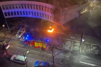 Tentative d'incendie de l'église de Rillieux-la-Pape