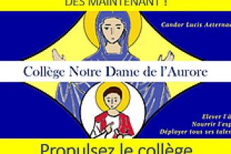 Le collège Notre-Dame de l'Aurore, près de Toulouse, a besoin de soutien