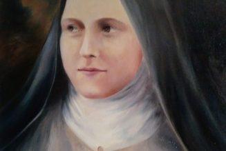 Les fleurs de sainte Thérèse de l'Enfant-Jésus et de la Sainte Face