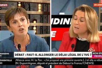 Virginie Mercier dénonce le déni du principe de réalité à propos du rallongement du délai légal de l'avortement