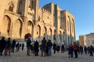 Manifestation pour la défense de la messe à Avignon