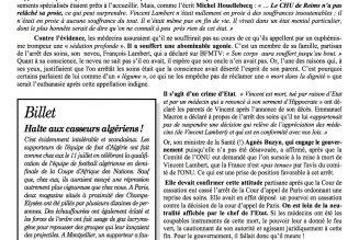 Fusion entre le Bulletin d'André Noël et Les 4 Vérités
