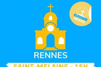Manifestation pour la messe à Rennes dimanche 22 à 15H
