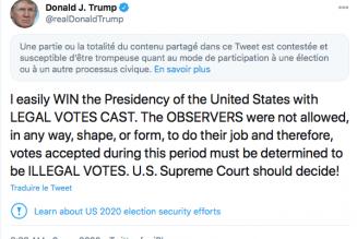 Fraudes électorales aux Etats-Unis