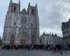 Manifestation pour la messe dimanche à Nantes