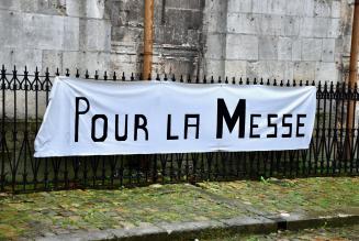 Manifestation pour la messe, samedi à Orange