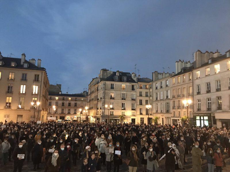 Manifestation pour la messe à Versailles : «Les évêques avec nous !»