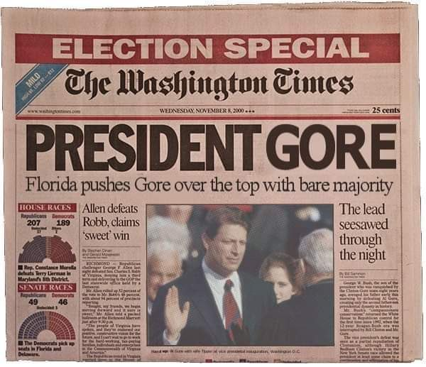 Joe Biden connaîtra-t-il le sort d'Al Gore ?