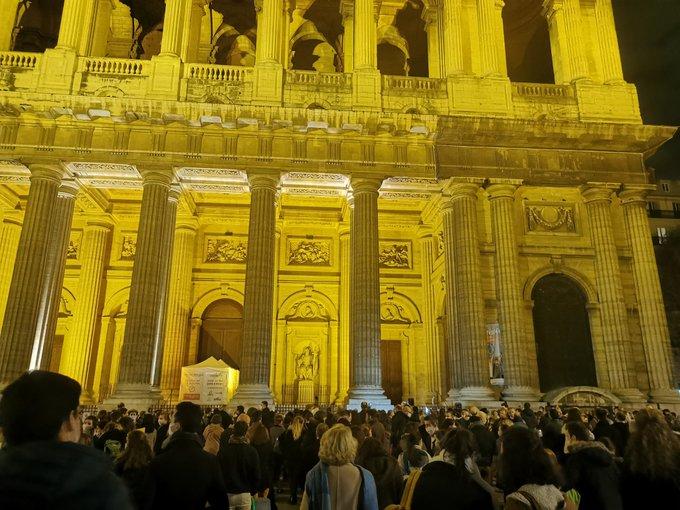 Rassemblements pour la messe à Paris, Limoges, Bordeaux, Vichy, Brive, Nancy, Saint-Malo, Lille, Toulouse