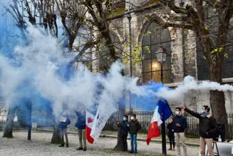 Manifestations pour la messe à Compiègne et Senlis