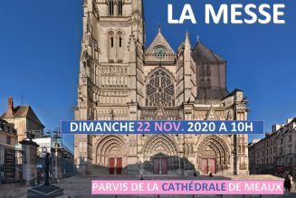 Manifestation pour la messe dimanche 22 novembre à 10h à Meaux