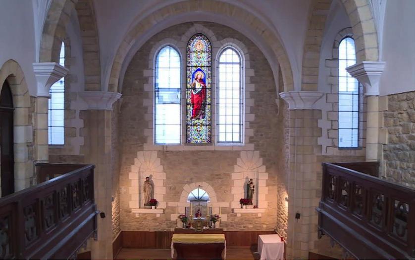 Rénovation de la chapelle du Couvent St Paul en Dordogne